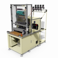 Model No. DSW-4208P-TP 8 Spindles Automatic Coil Winding Machine with Coil Taping Unit