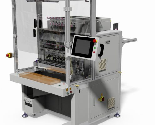 8 spindles coil winding machine