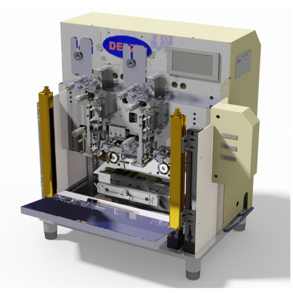 DSW-Tape-1602_2 Spindles Automatic Servo Coil Taping Machine