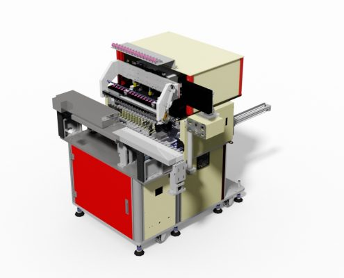 16 Spindles coil winding machine