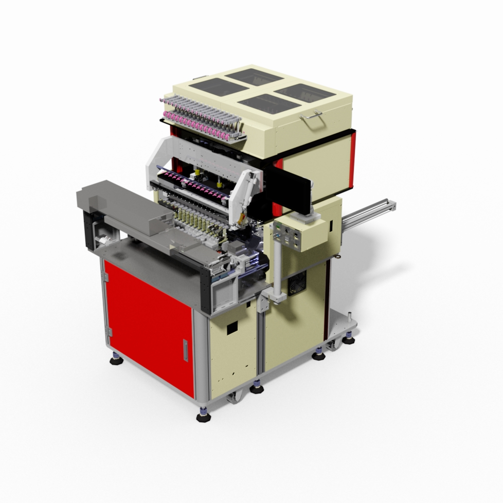Automatic coil winding machine with wire twister