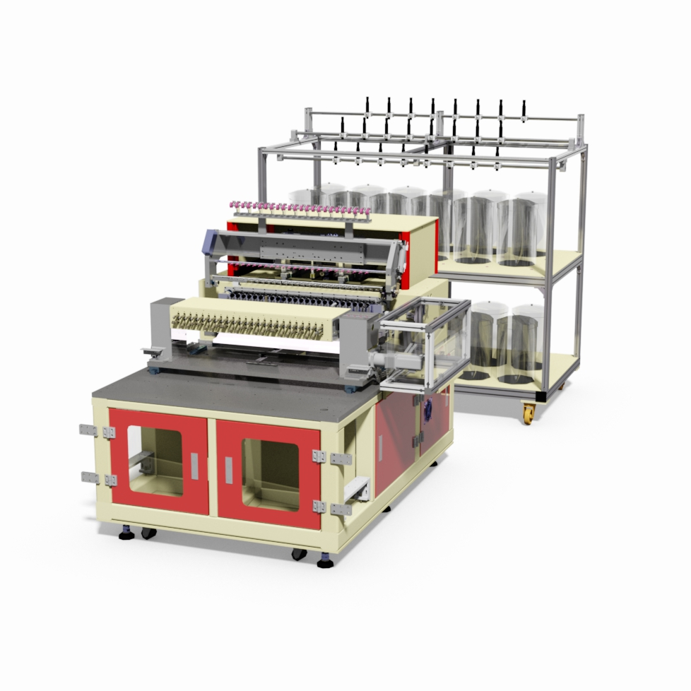 24 Spindles Coil Winding Machine