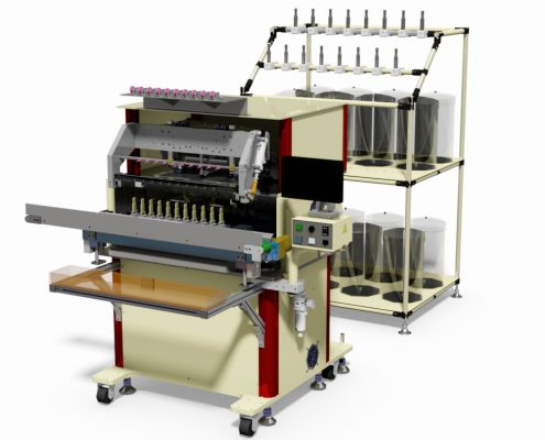 10 Spindles Automatic Coil Winding Machine
