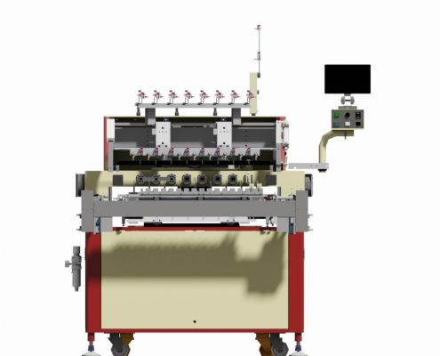 8 Spindles Automatic Coil Winding Machine