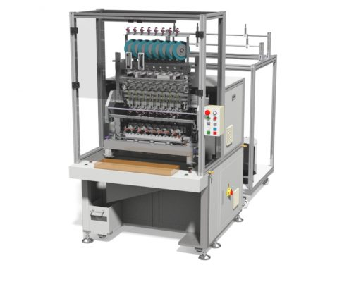 DSW-6008P-TP- 8 Spindles Automatic Coil Winding Machine with Coil Taping Unit