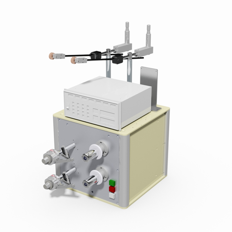 2 Spindles bench coil winding machine