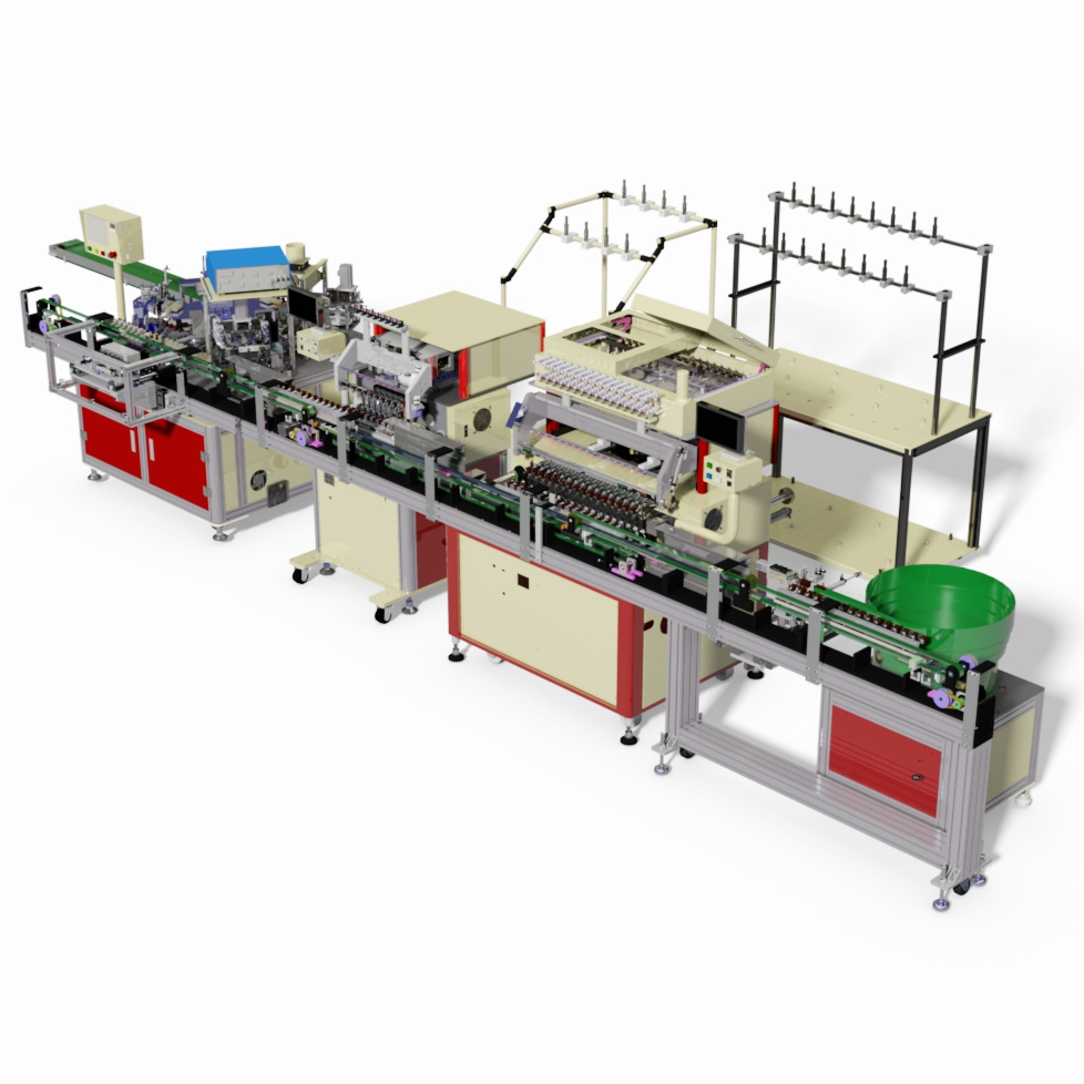 Automatic Machine Line For High Frequency Transformer Detzo