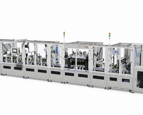 Actuator Coil Fully Automatic Machine Line